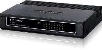 TP-Link TL-SF1016D 16port 10/100mbps Desktop Switch - 2