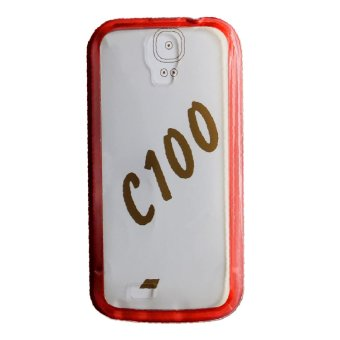 TPU Back Case For CherryMobile C100 (Red)