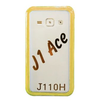 TPU/PC Back Case For Galaxy J1 Ace (Gold)