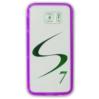 TPU/PC Back Case For Samsung Galaxy S7 (Violet)