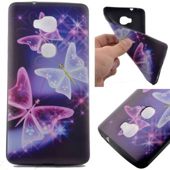 TPU Silicone Case Cover for Huawei Honor 5X / GR5 (Butterfly) -intl