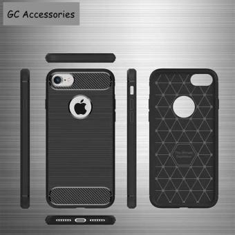 TPU Soft Carbon Fiber Shockproof Cover Case For IPhone 6/6s