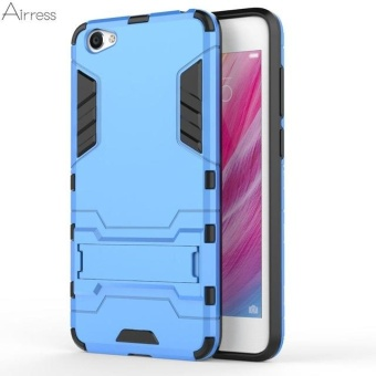 TPU/PC 2 in 1 Armor Rugged Military Grade Phone Case Cover for Vivo Y55 Y55s - intl