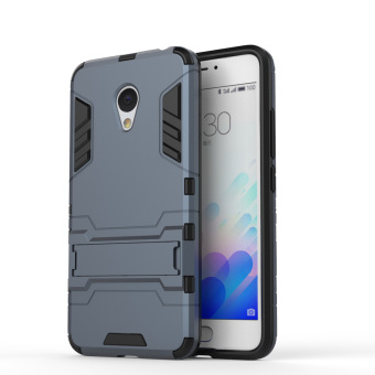 TPU/PC 2in1 Armor Rugged Military Grade Phone Case for Meizu M3Note(Dark Blue) Price Philippines