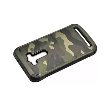 Tpu/Pc Armor Military Case For Asus Zenfone Selfie (Camouflage)