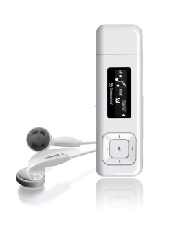 Transcend MP330 MP3 Player (White)