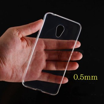 Transparent TPU Thin Soft Flexible Case Phone Back Cover For Meizu M3S - intl Price Philippines
