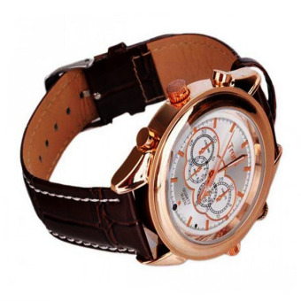 Trendy 8GB Spy Camera Watch (Brown) - picture 2