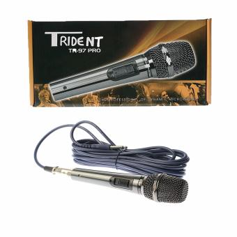 Trident TR-97 Professional Dynamic Wired Microphone (Black)