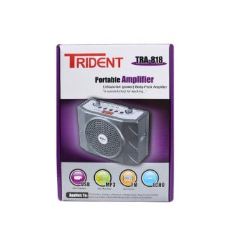 Trident TRA-818 Portable Body Pack Amplifier with Headset and LapelMic Price Philippines