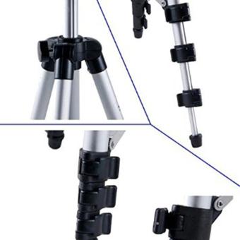 Tripod With 3-Way HeadTripod for Nikon D7100 D90 D3100 DSLR SonyNEX-5N A7S Canon 650D 70D 600D WT-3110A - 4