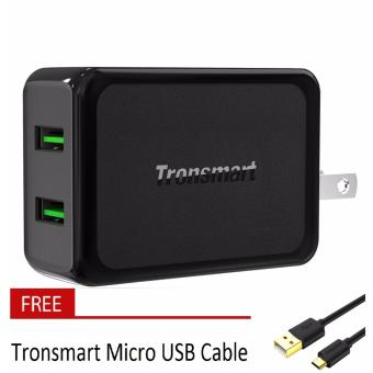 Tronsmart W2TF Quick Charge 3.0 36W 2 Ports AC Wall Travel USBCharger