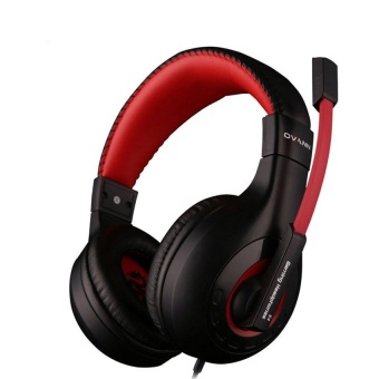 TTLIFE Professional Esport Gaming Headset Headphone EarphoneOverEar 3.5mm Wired with Microphone for PC Computer Laptop(red) -intl