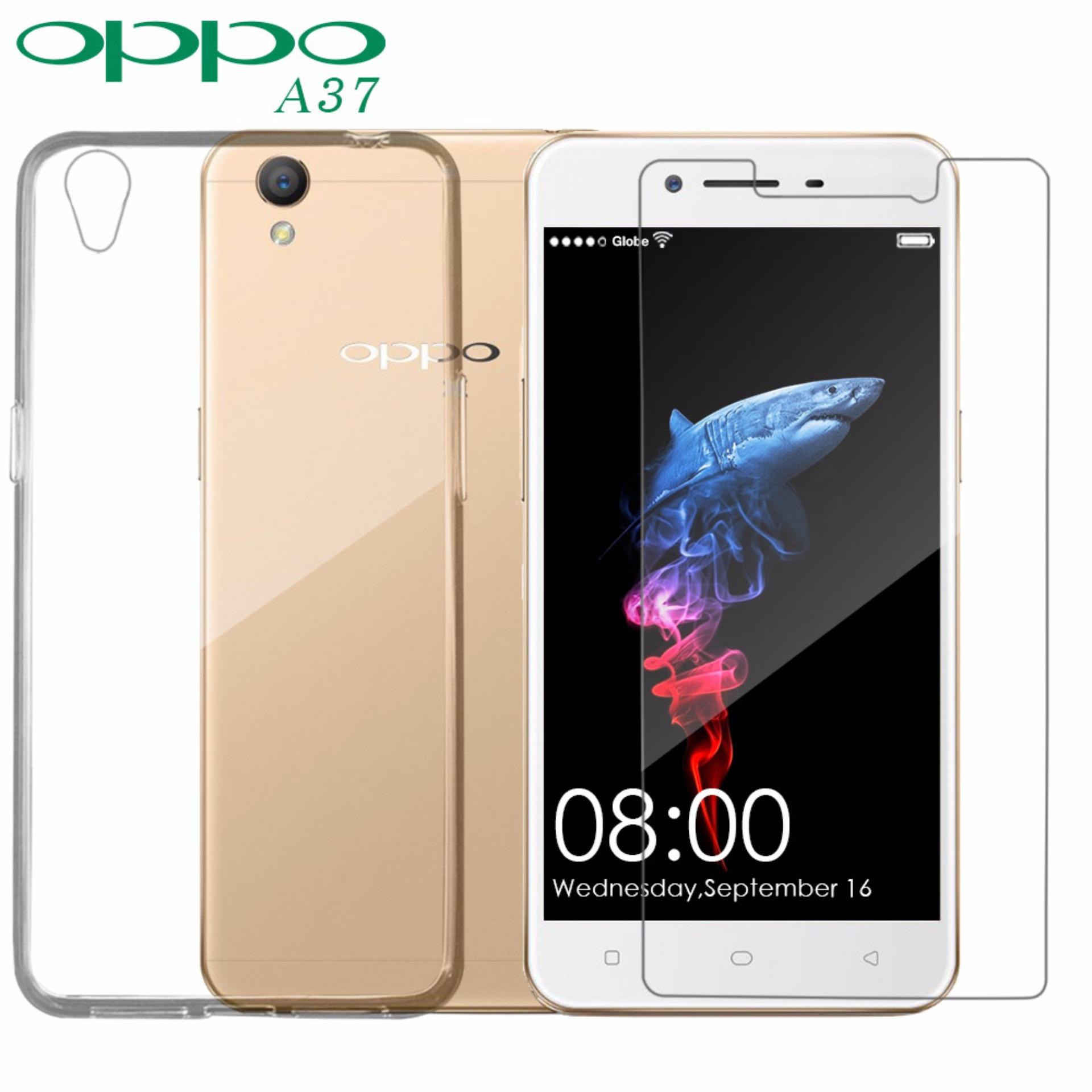 Philippines Bestsellers Oppo A37 Phone Case With Tempered And Pop Glass Screen Protector Cover 2 Pcs Free Jelly For Clear