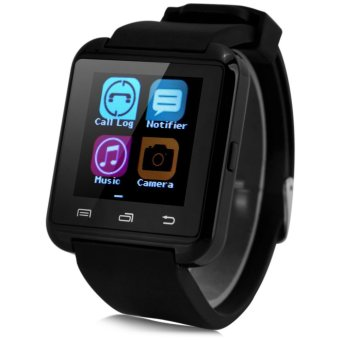 U8 Smartwatch Bluetooth Watch Passometer Touch Screen Answer and Dial the Phone - intl Price Philippines
