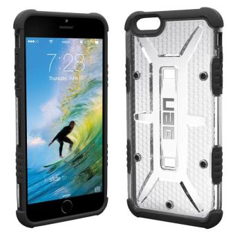 UAG Plasma Series TPU Rubber Case For Iphone 5 / Iphone SE (Clear)