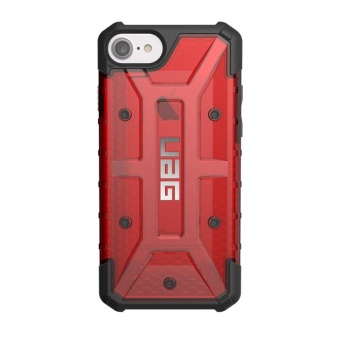 UAG Plasma Series Tpu Rubber Case For Iphone 5 / Iphone Se (Red)With Free 3-In-1 Charger Adaptor
