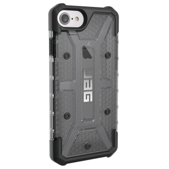 UAG Plasma Series Tpu Rubber Case For Iphone 7 (Black) With Free3-In-1 Charger Adaptor