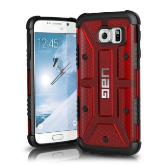 UAG Plasma Series TPU Rubber Case For Samsung Galaxy S6 Edge (Red)