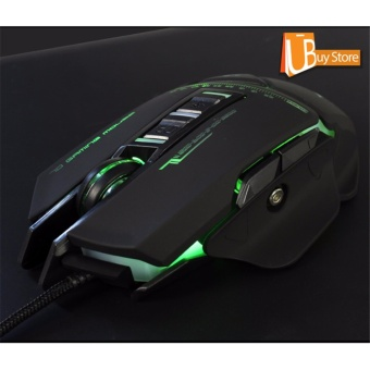 UBUY Backlight RGB Gaming Mice LED USB Wired CF Plus Gaming Mouse - intl