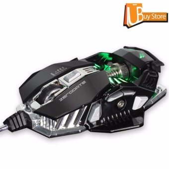 UBUY Luminous Backlight RGB Mouse LED USB Wired Desktop PC Professional Gaming Mouse - intl