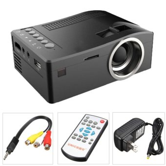 UC18 Full HD 1080P LCD LED Home Theater Cinema Mini PortableProjector with USB TV VGA SD AV Support - intl