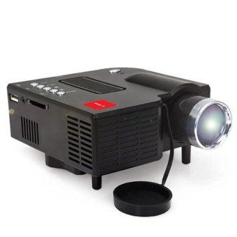 UC28A Mini Pico Projector Home Cinema Theater Digital LED LCDProjector VGA/USB/SD/AV/HDMI Multimedia Projecyor - intl - 2