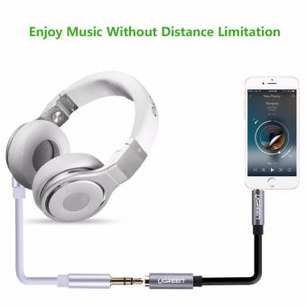 UGREEN 3.5mm Stereo Jack Audio Extension Cable with Aluminum Case(5m) White - 5