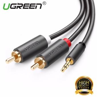 UGREEN 3.5mm to 2RCA Male Aux Cable for Headphone Cell Phone (1m)