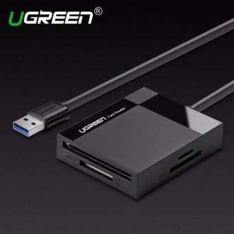 Ugreen All in 1 USB 3.0 Card Reader Super Speed TF CF MS Micro SD Card Reader Multi Smart Memory for Computer USB Card Reader-0.5m cable - intl