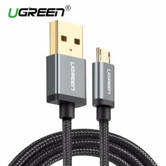 UGREEN Nylon Braided Micro USB Cable Sync Data Charging Cable for Android,Samsung,Xiaomi,HTC,Sony - 1m,Black - intl