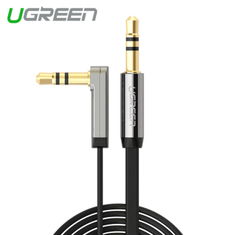 UGREEN Stereo Audio Cable 90 Degree Right Angle (3m) Black - Intl