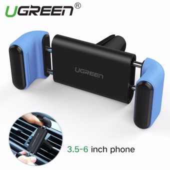 UGREEN Universal Smartphones Mobile Phone Adjustable Car Air Vent Mount Holder Cradle for iPhone 7 7 Plus SE 6s 6 Plus 6 5s Blue - Intl