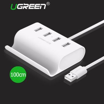 UGREEN USB 2.0 4 Ports HUB with Cradle for PC Laptop (1m) - Intl Price Philippines