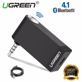 UGREEN V4.1 Wireless Bluetooth Audio Music Receiver without Mic3.5mm Hands-free Function - intl