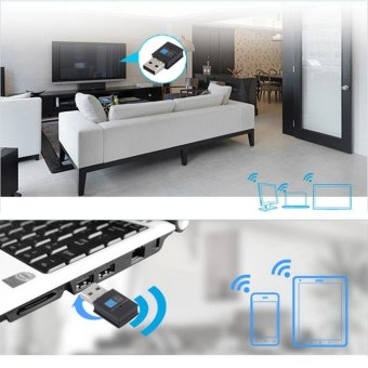 UINN Bluetooth 4.0 150Mbps Mini Wireless USB WI-FI Adapter LAN WIFI Network Card - intl - 2