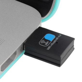 UINN Bluetooth 4.0 150Mbps Mini Wireless USB WI-FI Adapter LAN WIFI Network Card - intl - 5