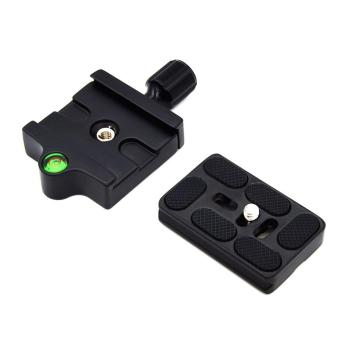 UINN Professional KZ-20 Camera Tripod Monopod Quick Release Clamp Adapter Plate Black