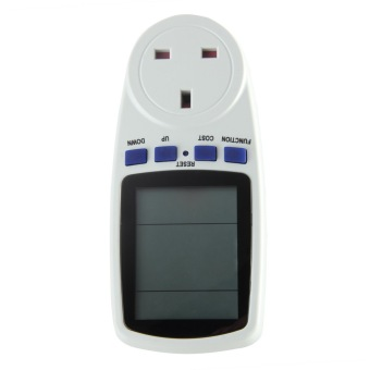 UK Plug Energy Meter Watt Volt Voltage Electricity Monitor AnalyzerPower Price Philippines