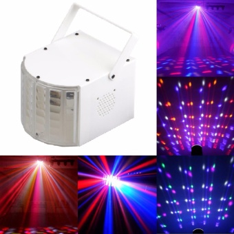 U'King Stage Light DJ Lights Dance Club Party Disco Light KTV BarEffect Lighting Sound Active DMX512 Control RGBW Projection Lamp -intl Price Philippines