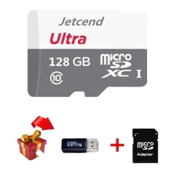 Ultra 128GB 80MB/s C10 Micro SDHC Card Grey with Adapter and Gift -intl Price Philippines