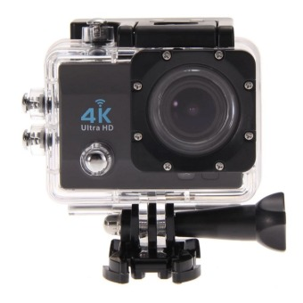 Ultra HD 4K Action Camera 12MP with WIFI (Black) - 2