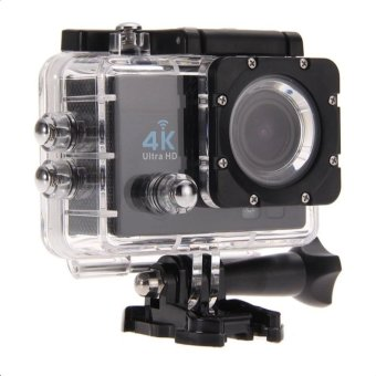 Ultra HD 4K Action Camera 12MP with WIFI (Black)