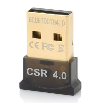Ultra-Mini Bluetooth CSR 4.0 USB Dongle Adapter Black Price Philippines