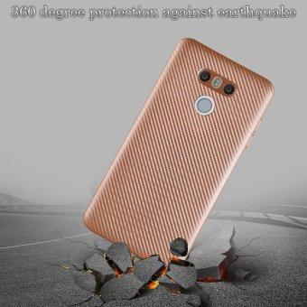 Ultra Slim Carbon Fibre Shockproof Protective Case Cover For LG G6Gold - intl(Gold) - 4