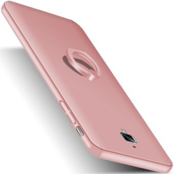 Ultra Slim Fit Hard PC Snap-On Case Cover for OnePlus 3T - RoseGold - intl