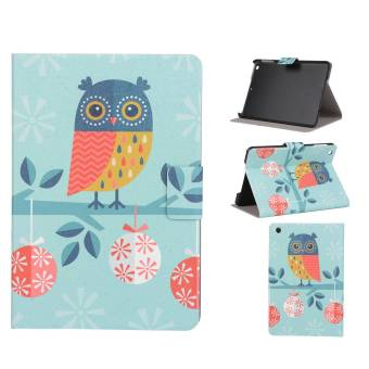 Ultra Slim PU Leather Flip Stand Case for Apple iPad mini 3/2/1(Owl) - intl