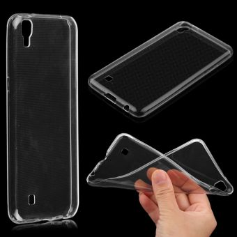 Ultra Thin 0.3mm TPU Clear Transparent Case Cover For LG X Power - 4