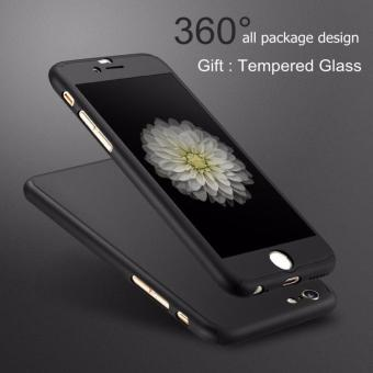 Ultra-thin 360 Fullprotection Cover Case for Iphone 6 / 6s (Black)