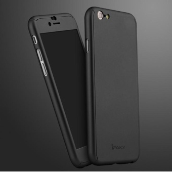 Ultra-Thin 360 Fullprotection Cover Case For Iphone 6 Plus / 6SPlus (Black)